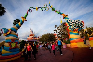 Awash with color, music and whimsy, Seuss Landing is where the beloved books of Dr. Seuss spring to life.